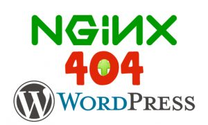 Error 404 on Wordpress nginx